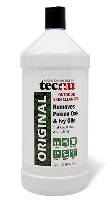 Tecnu Original Poison Oak and Poison Ivy Outdoor Skin Cleanser