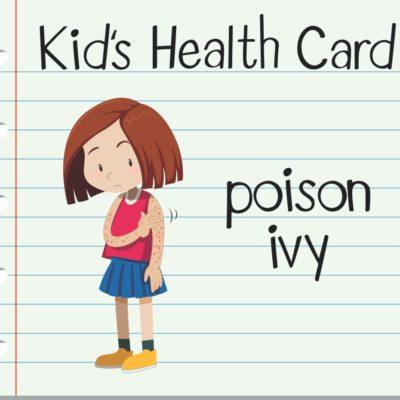 Poison Ivy in Children: What To Do