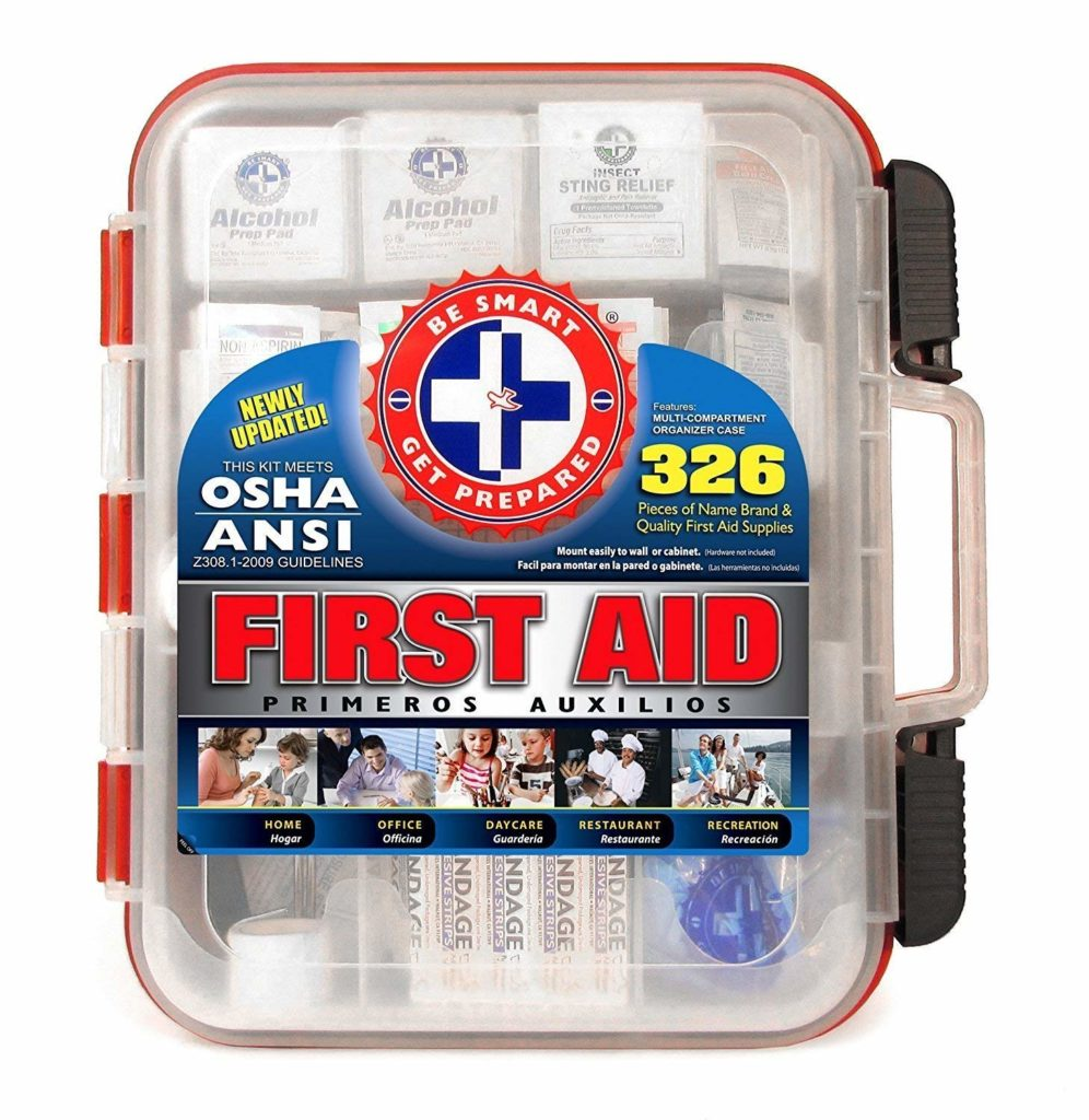 The Be Smart Get Prepared First Aid Kit
